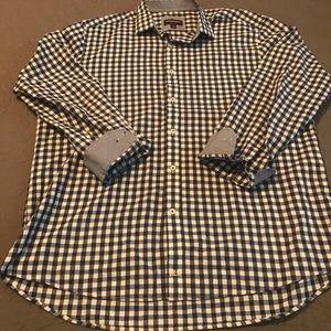 Men's XL Johnston &Murphy long sleeve shirt